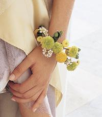 Chartreuse & Yellow Bracelet